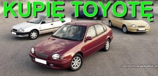 Kupię każdą Toyotę - 531 666 333