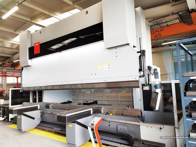 Gięcie blach CNC aż do 6200 mm długości! NACISK aż 5000 kN!
