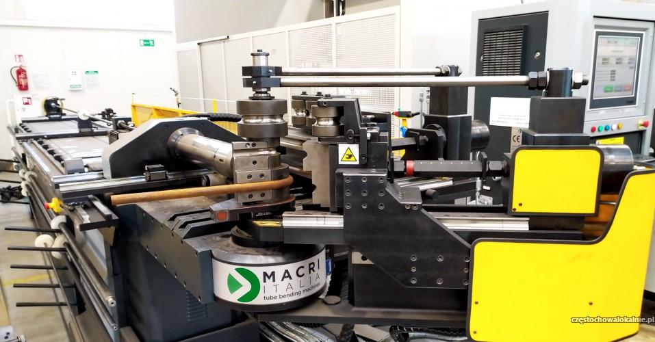 GIĘCIE rur i profili CNC - gięcie nawet do Ø 90 mm !