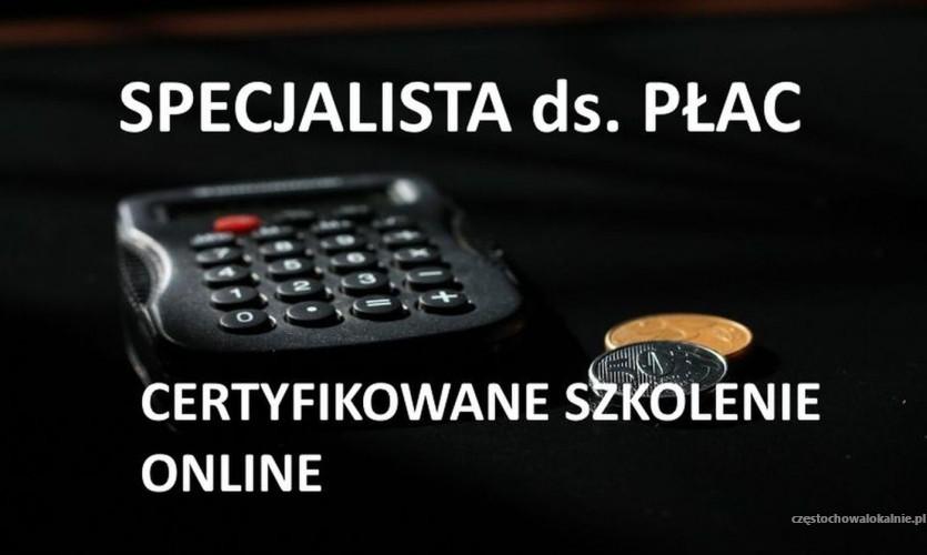 Kurs płace online – Specjalista do spraw wynagrodzeń